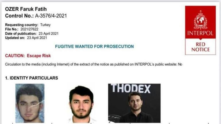 Thodex şüphelileri de mağdur çıktı Paraları içerde kalmış