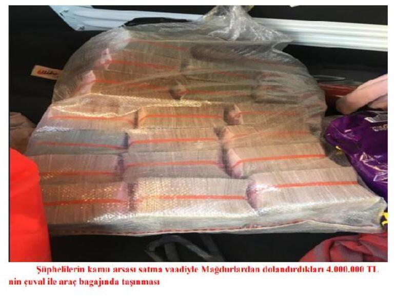 Arsa avcısı çetesine 5 milyon 250 bin lira kaptırdı İş insanının hayatı kâbusa döndü