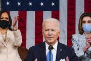 Biden ilk kez Kongrenin ortak oturumuna hitap etti