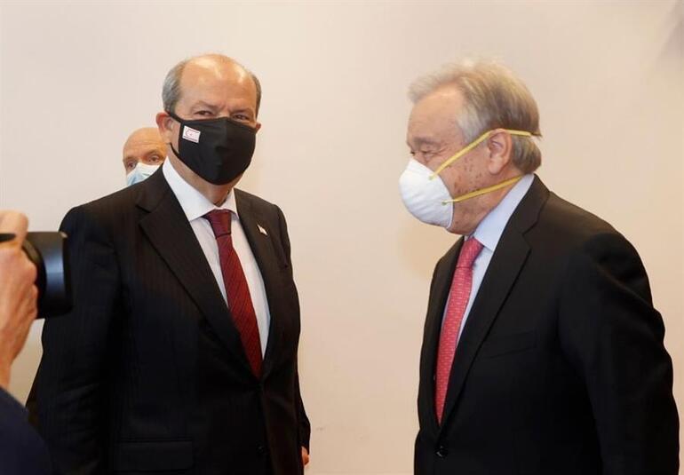 Son dakika haberi... Kritik Kıbrıs zirvesi sona erdi Guterres: Ortak zemin bulamadık, vazgeçmeyeceğiz