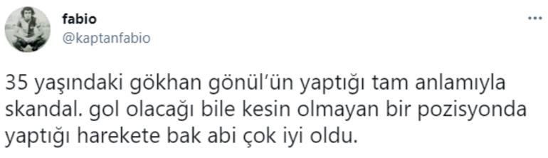 Alanyaspor-Fenerbahçe maçına damga vuran kırmızı kart Gökhan Gönülün hamlesi taraftarı ikiye böldü