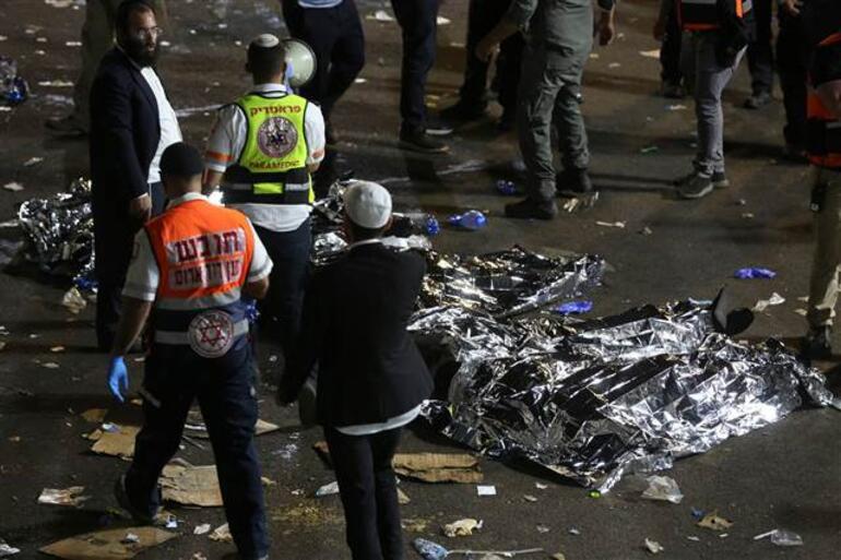 Son dakika haberi: İsrailde Lag BaOmer Bayramı kutlamalarında facia Çok sayıda ölü ve yaralı var