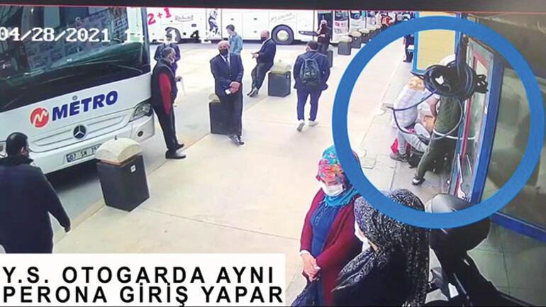 Otogardaki bombacıların işçi kamuflajı