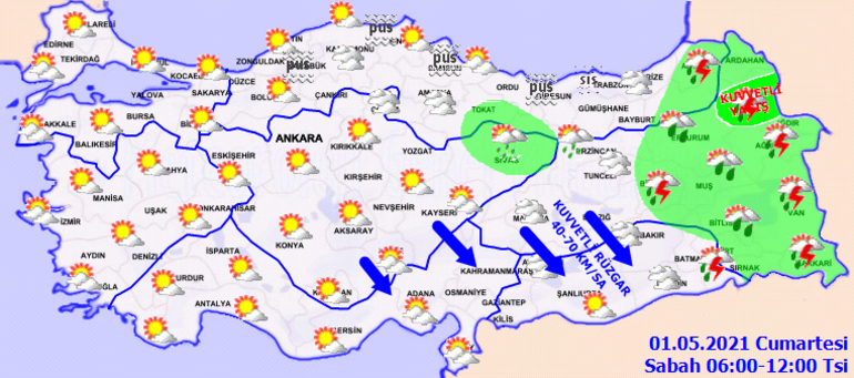 Meteorolojiden son dakika hava durumu raporu 3 bölgede yağış var