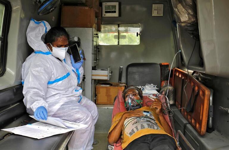 Son dakika haberler... Hindistanda felaketin rekoru kırıldı: Vaka sayısı 400 bini aştı