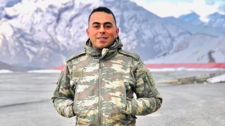 Şehit Uzman Çavuş <strong>Mehmet Kırmızı</strong>, son yolculuğuna uğurlandı