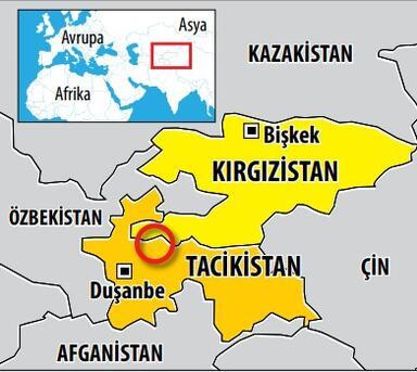 Orta Asya'da korkutan komşu kavgası