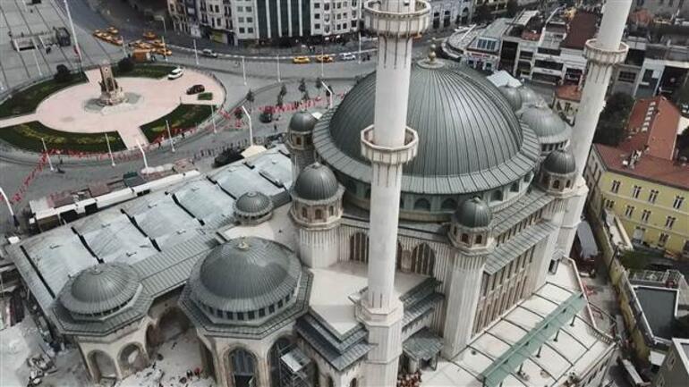 Taksim Camii bu cuma açılıyor Son düzenlemeler yapılıyor