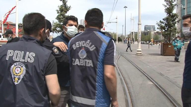 İkamet kartı bulunan İranlıya polisten tepki Neye uğradığını şaşırdı