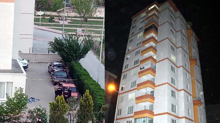 11'inci kattan düşen çocuk feci şekilde can verdi