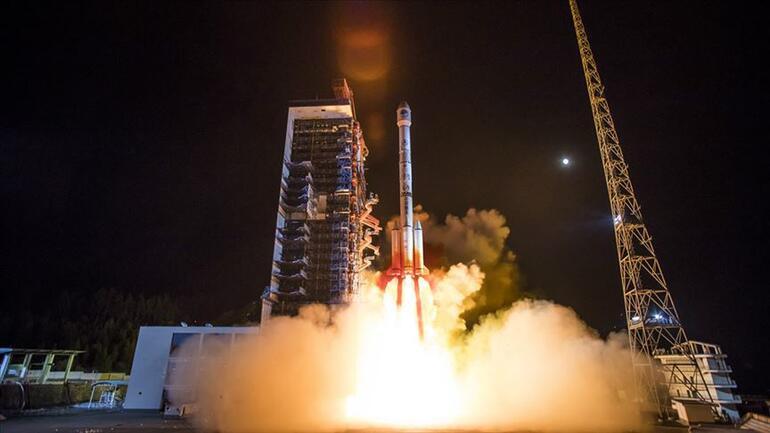 ABDden açıklama geldi Çinin roketi kontrolden çıktı
