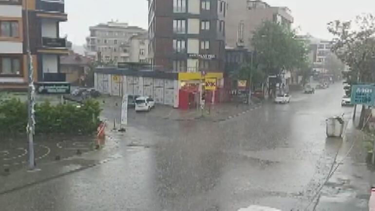 İstanbulda Anadolu Yakasında dolu sürprizi
