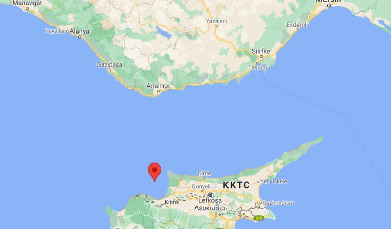 Son dakika: Akdenizde 4.3 büyüklüğünde deprem