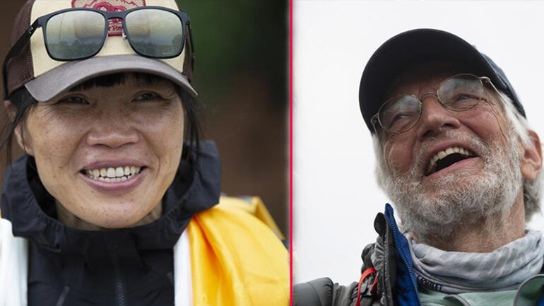 En yaşlı ve en hızlı... Everestte çifte rekor