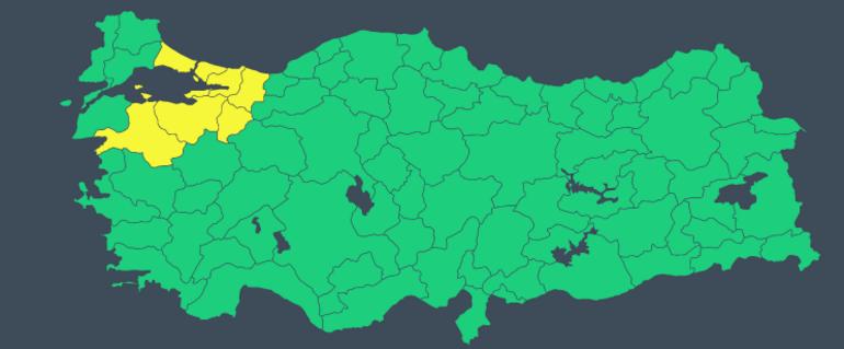 Son dakika: Meteorolojiden İstanbul için sarı uyarı Saat verildi