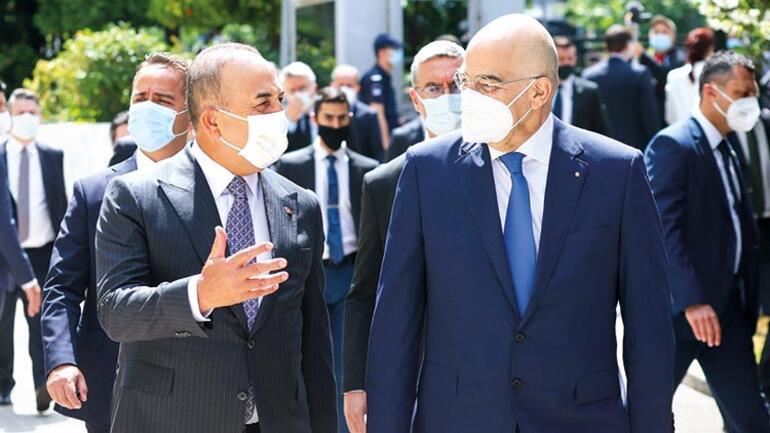 Yunanistan ile kapılar açıldı Pozitif gündem hedefine ulaşıldı