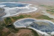 Flamingo cenneti Düden Gölü ile komşusu Küçük Göl kurudu