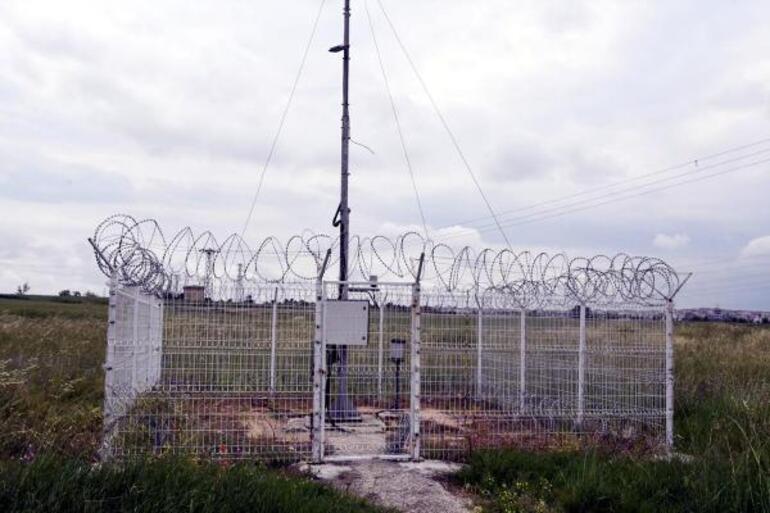 Tekirdağda meteoroloji gözlem istasyonunun kabloları çalındı
