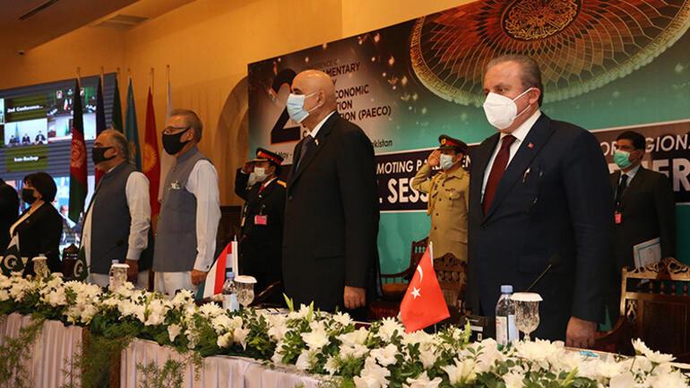TBMM Başkanı Şentoptan Pakistanda Ekonomik İşbirliği Teşkilatı Parlamenter Asamblesi konferansında açıklama