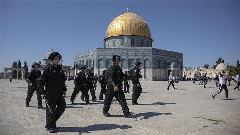 Hamastan Mescid-i Aksaya yönelik baskınları protesto için Filistinlilere öfke cuması çağrısı