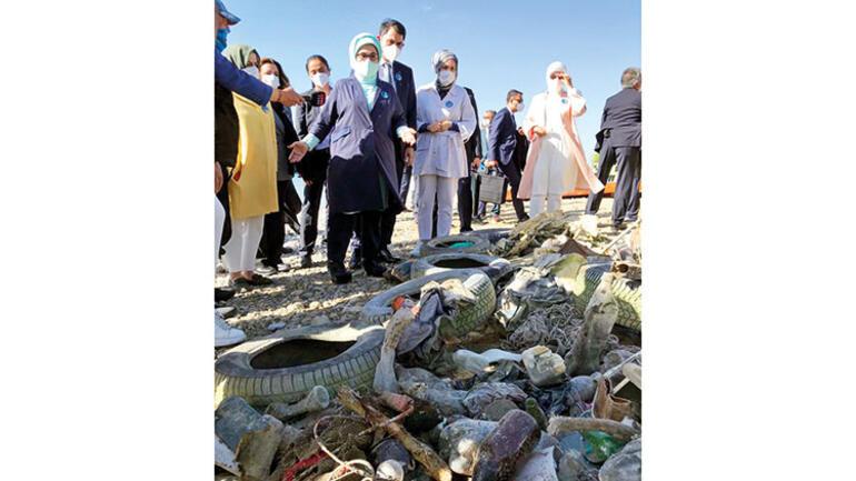 Van Gölü Biyolojik Arıtma Tesisi'ni ziyaret eden Emine Erdoğan: Van Gölü korunacak
