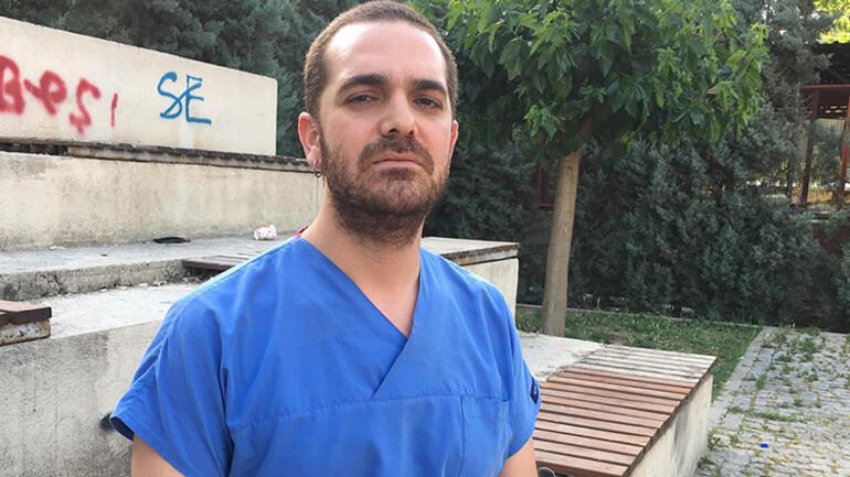 İzmirde hastanede dehşet Makasla kovalayıp yumrukladı...