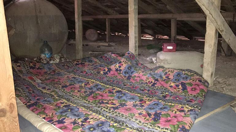 İstanbulda çatı katında 8 günlük kâbus