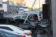 Ankarada iş yerinde yangın Hasar ortaya çıktı