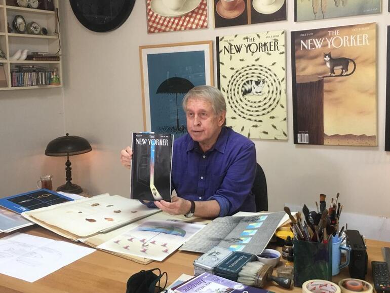 Pandemi etkisi kapağa yansıdı: Dünyaca ünlü dergide Türk sanatçının imzası
