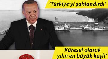 Cumhurbaşkanı Erdoğan 3. müjdeyi duyurdu 135 milyar metreküplük yeni keşif
