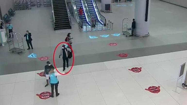 İstanbul Havalimanında operasyon Polis adım adım takip etti