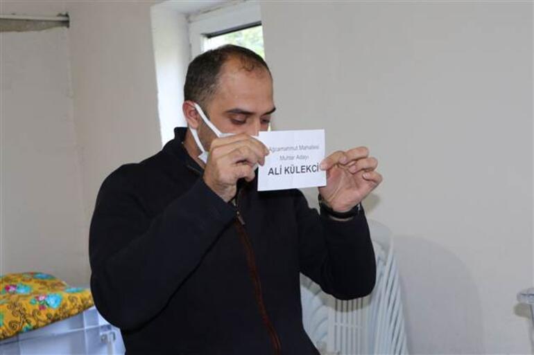 Bir ay önce 18 yaşına bastı İşte dün yapılan seçimi kazanan Ali Külekçinin ilk sözleri...