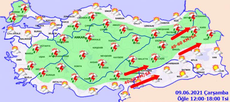 Son dakika: Dikkat Meteoroloji bölge bölge uyardı