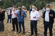 1700 rakımdaki tepede yağmur duası için toplandılar