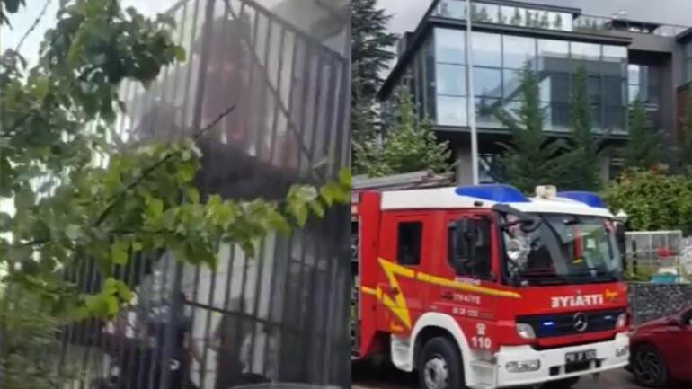 Ankara Çankayada huzurevinde yangın çıktı