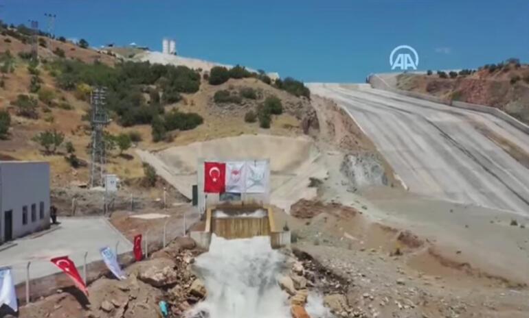 Son dakika... Yukarı Afrin Barajı törenle açıldı Cumhurbaşkanı Erdoğan: Kirli gündemlere itibar etmeden yolumuza devam edeceğiz