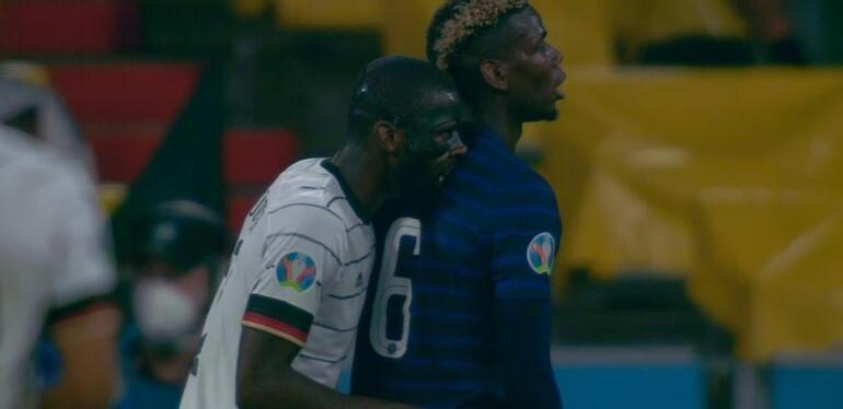 EURO 2020deki Fransa - Almanya maçına damga vuran ısırık olayı