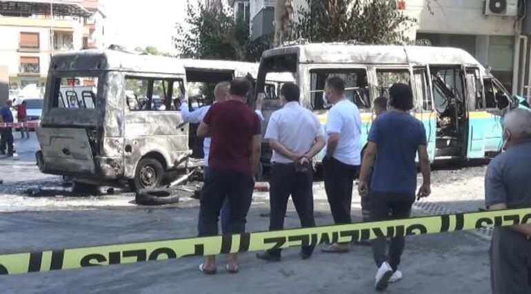 İzmirde korku dolu anlar Alev alev yandı... Yaralılar var