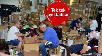 1995ten beri bu işi yapıyorlar... 1500 valiz içinden 44 bin 500 parça eşya çıktı