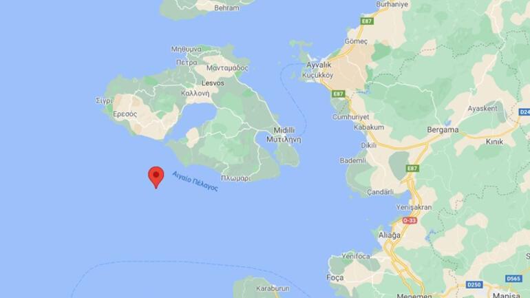 Son dakika... Egede deprem İzmir Karaburun ve Çanakkalede hissedildi