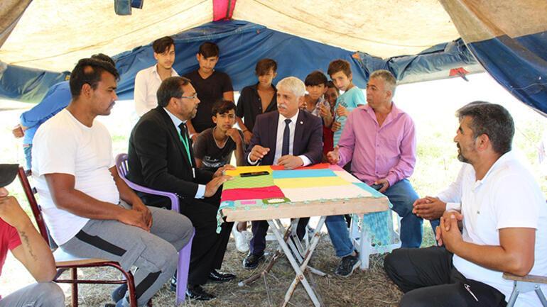 Güzel Parti ilçe başkanlığı çadırda kuruldu
