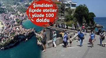 6 bin nüfusluk ilçeye 200 bin kişi geliyor Burası ne Akdeniz, ne Ege