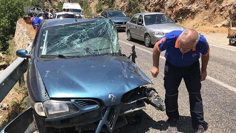 HDP Adıyaman eski milletvekili Behçet Yıldırım aracıyla kaza yaptı