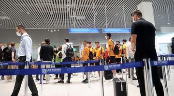 Yunanistana giden Galatasaraya skandal tavır İşte o anlar...