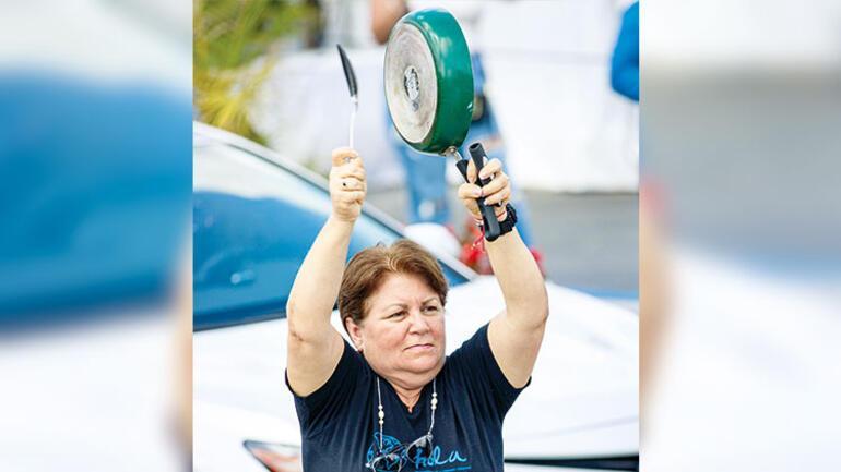Kübada isyan: Gıda kuyruklarına, yokluğa protesto