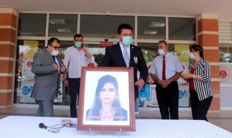 Avukat Gizem Saraçoğluna gözyaşlarıyla veda.... Üzüntümüz tarifsiz