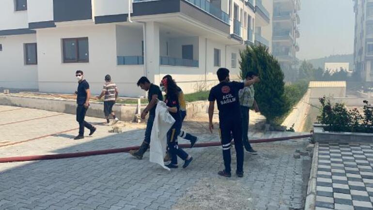 Son dakika... Osmaniye'de hastane ve yerleşim alanı yakınında orman yangını