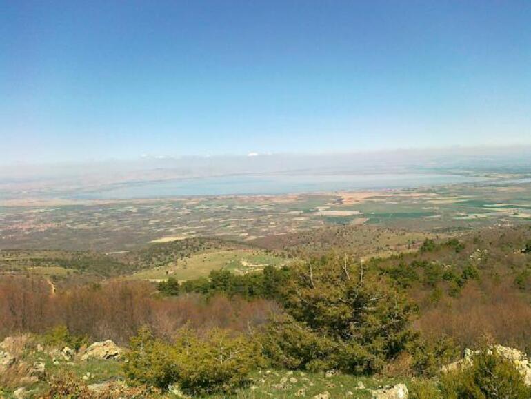 Türkiyenin beşinci büyük gölüydü Akşehir Gölü, gölete döndü