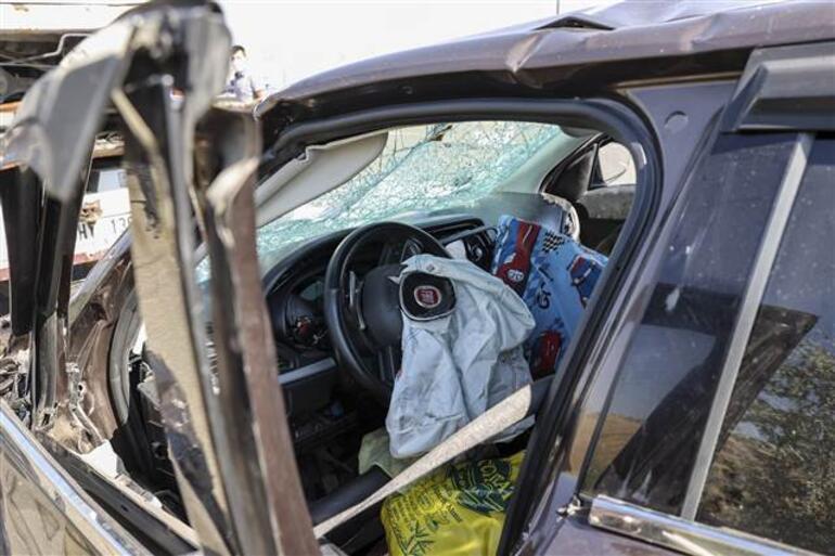 Ankarada 3 araç birbirine girdi: 7si çocuk 17 yaralı