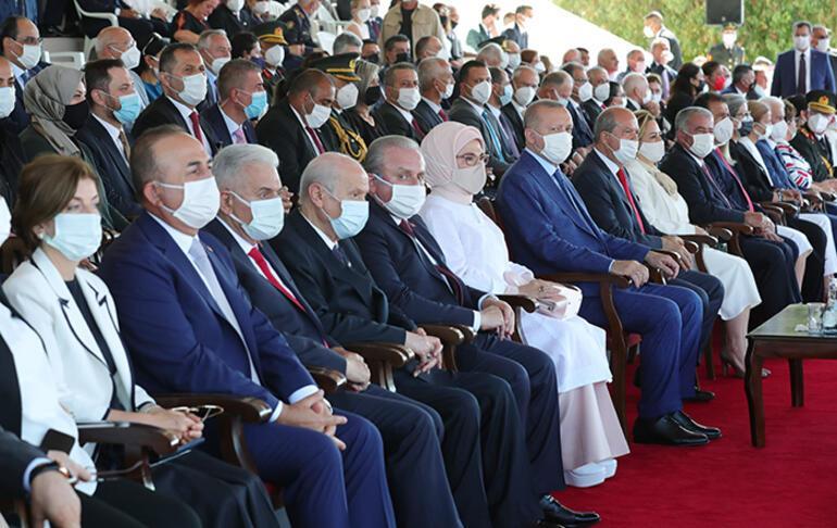 Son dakika: Cumhurbaşkanı Erdoğan, KKTCde... Buradan ABye sesleniyorum deyip açıkladı: Ne oldu, siz sözünüzü tuttunuz mu